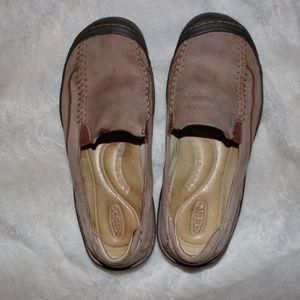 Keen Women's Tan Leather Loafers 7.5 US